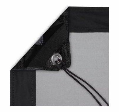Modern Studio 10x20 1/4 Stop Silk (Artificial Black) With Bag