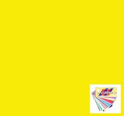 Rosco E Colour 010 Medium Yellow Lighting Gel Filter Sheet