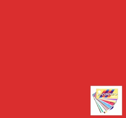 Rosco E Colour 164 Flame Red Gel Filter Sheet