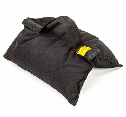 50lb Sandbag Black with Black Handle