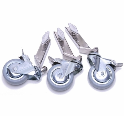 "American Combo Stand Wheels for 1"" Legs  (Set of 3)"