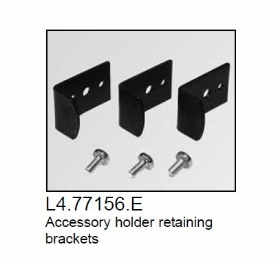 Arri Arrilite 1000 Open Face Light Accessory Retaining Brackets (3)