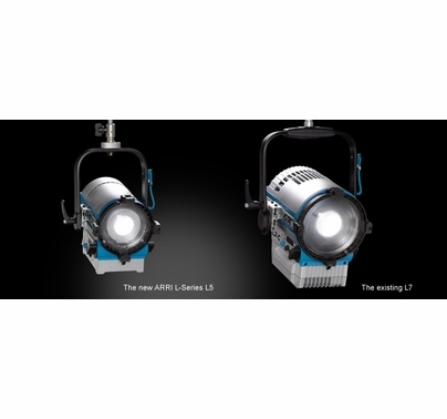 Arri L5-DT Daylight LED Fresnel, Stand Model