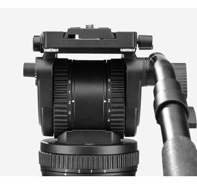 Benro BV-8 75mm Video Tripod Kit - Max Load 17.6 lbs