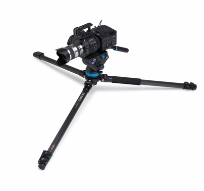 Benro S8 Video Tripod Kit w/ Carbon Fiber Legs