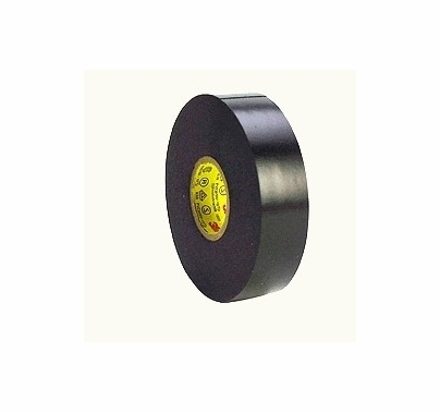 "Black 3M Super 33+ Electrical Tape Vinyl 3/4"" x 66yds  T121"
