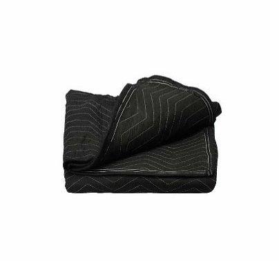 "Economy Lightweight Sound Blanket, Black, 72""x80"", No Grommets"