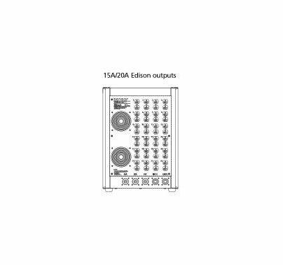 ETC Sensor3 Portable Dimmer  24 Channel (48) 20A Edison