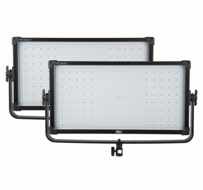 F&V Z1200S UltraColor LED 2 Light Kit - BICOLOR - V-Mount
