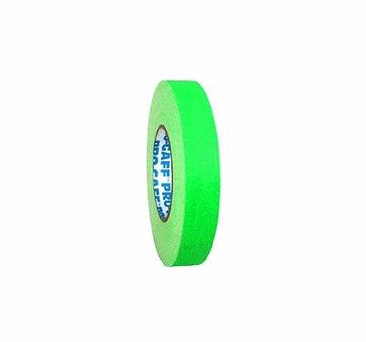 "Fluorescent Green 1"" Camera Tape Roll"