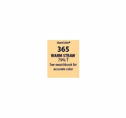 """GAM GamColor 365 Warm Straw Lighting Gel Filter Sheet 20""""x24"""""""