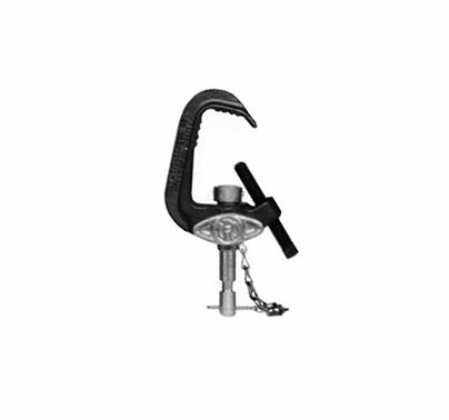 Heavy Duty C-Clamp w/adapter (Baby Pipe Clamp) 500848