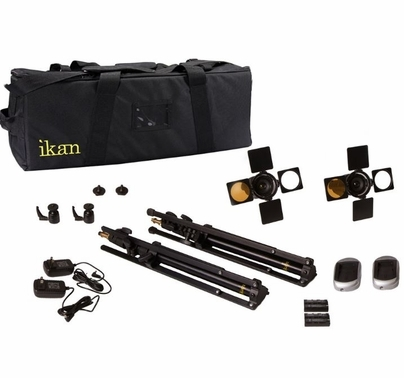 Ikan iLED6 LED Spot Light 2 Light Kit