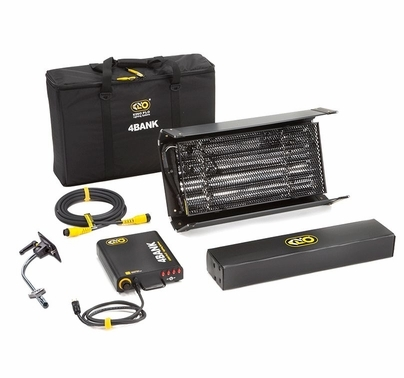 Kino Flo 2ft. 4Bank Light Kit (1 unit)