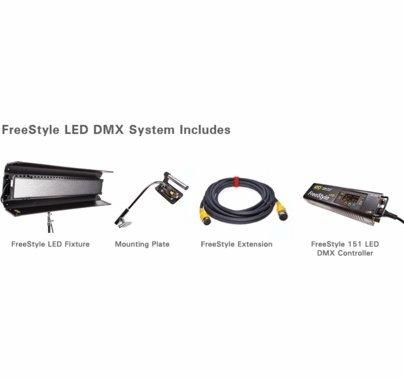 Kino Flo FreeStyle 41 DMX Complete System