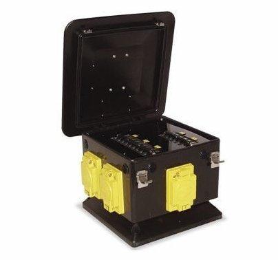 Lex 100 Amp 3 Phase Pagoda to L21-20 Locking Receptacles