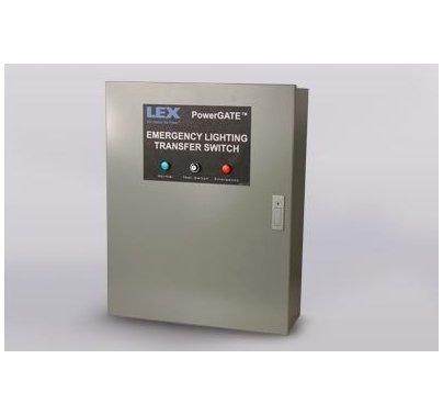 Lex PowerGate Emergency Lighting Transfer Switch, 8 Cir, 3 Ph