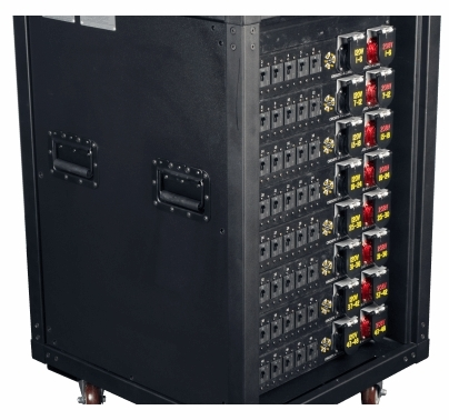 Lex Presidential 400 Amp PowerRack w/ 48 120VAC or 208VAC Circuits