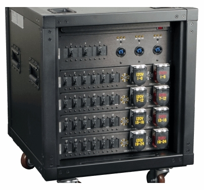 Lex Viceroy Rack 200 Amp PowerRack w/ 24 120V or 208V Circuits