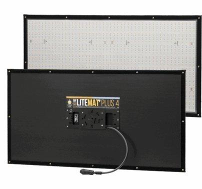 LiteGear LiteMat Plus 4 Hybrid LED Light Kit Gold Mount