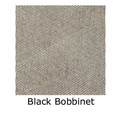 Matthews 12x12 Double Net Scrim Black  319088