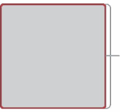 Modern 4x4 Double Net Scrim