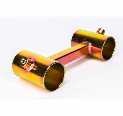 """Modern Studio Pipe Mini Ladder Truss Bracket for 1 1/4"""" Pipe  013-2490"""