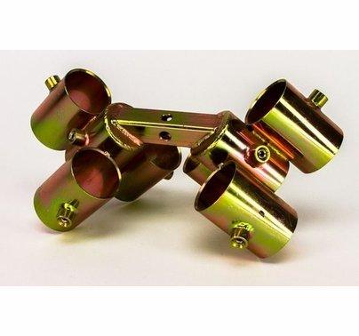 "Modern Studio Pipe Mini Truss Corner Bracket for 1 1/4"" Pipe  013-2491"
