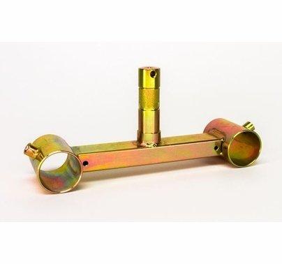 "Modern Studio Pipe Truss to Jr. Adapter Bracket for 1 1/2"" Pipe"