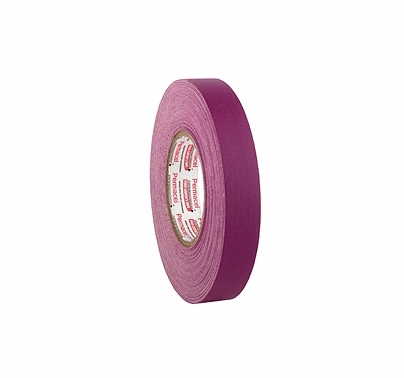 "Pro-Gaff Purple 1 Inch Camera Tape Roll 1""x55yds"