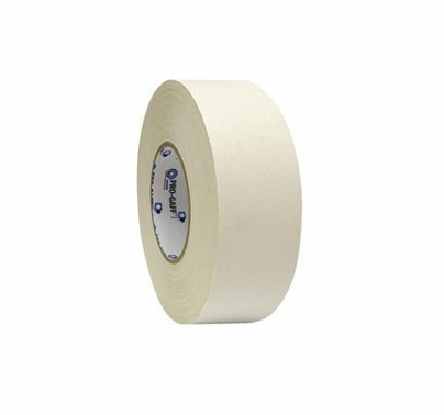 "Pro Tape Pro-Gaff 2"" x 50 yds White Gaffers Tape Roll"
