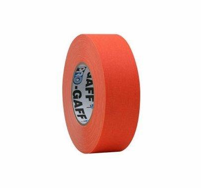 "Pro Tapes Pro-Gaff Fluorescent Neon Orange Gaffer Tape 2""x45yds"