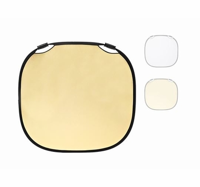 Profoto Reflector Gold White, Large Collapsible 47 inch