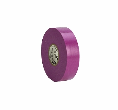 "Purple  3M 35 Electrical Tape Vinyl 3/4"" x 66 yds T130"