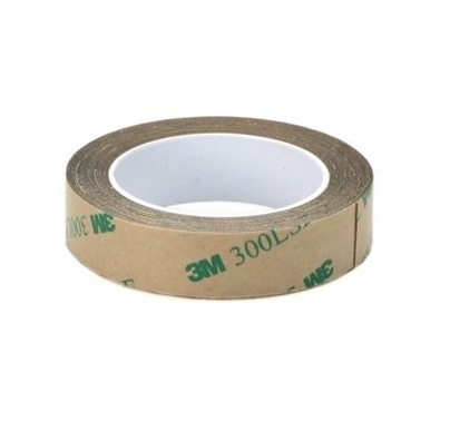 Ribbon Tape Clear Double Sided 1/2 inch x 60 Yards