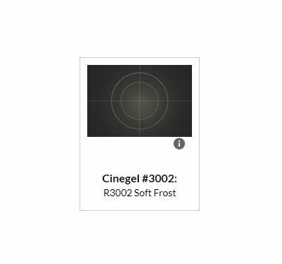 Rosco Cinegel 3002 Soft Frost Diffusion Filter Roll