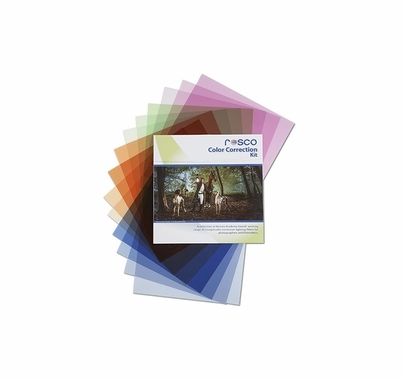 Rosco Cinegel Color Correction Gel Pack (16) 12x12 in Sheets