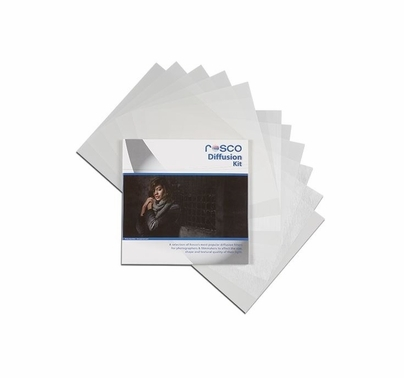 "Rosco Cinegel Diffusion Gel Filter Pack (15) 12""x12"" Sheets"