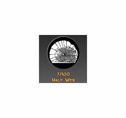 Rosco Half Spider Web 77130 Standard Steel Gobo
