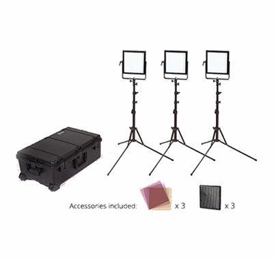 Rosco LitePad Vector LED CCT BiColor 3 Light Location Kit