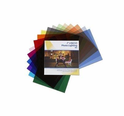 """Rosco Photo Lighting Gel Kit 20 Sheets 12""""  x 12"""""""