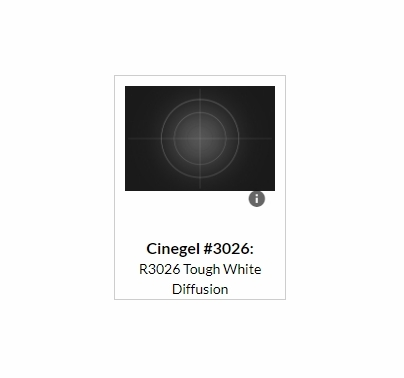 "Rosco Tough White Full 216 Diffusion Roll 3026 48""x24ft"