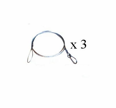 Safety Cable 3 Pack, 30 inch