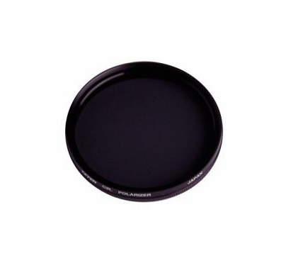 Tiffen 58mm Circular Glass Polarizer Filter, 58CP