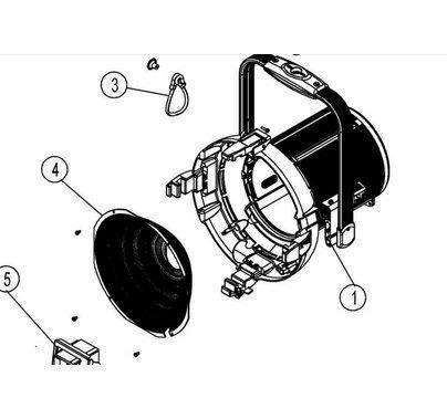 Arri M18 HMI Reflector Replacement Part