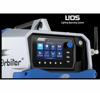 Arri Orbiter LED 30 Degree Starter Kit w/Edison Blue / Silver
