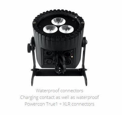 Astera AX5 3 in 1 LED 45w RGBAW Par Light