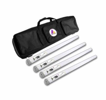 Astera LED Set of (4) Titan Tubes with Soft Bag