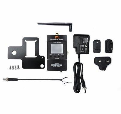 City Theatrical Multiverse Node Wireless DMX Transceiver 900mhz / 2.4ghz