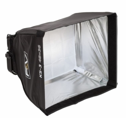 F&V Lighting KS-3 Softbox & Intensifier w/Grid for Half Panel LED Lights